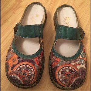 Rieker Antistress leather Sandals Size 38/ 7.5